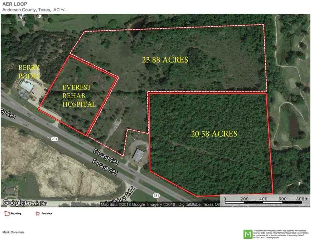 24 E Loop 281, 20163455, Longview, Acreage,  for sale, Dona  Willett, Summers Real Estate Group